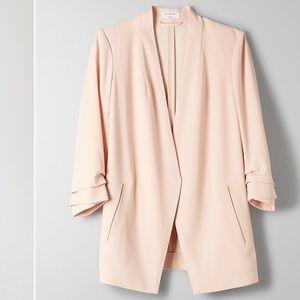 Aritzia Macauley 3/4 rolled sleeve blazer size 4